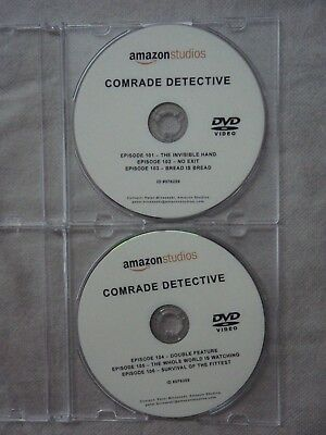 Comrade Detective DVD promo with 6 episodes, unwatched Amazon 2017