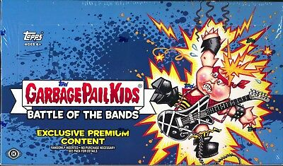 2017 Garbage Pail Kids Battle of the Bands COLLECTOR BOX New SEALED IN HAND