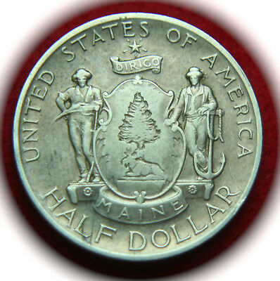 1920 Maine Centennial Silver Half Dollar Commemorative