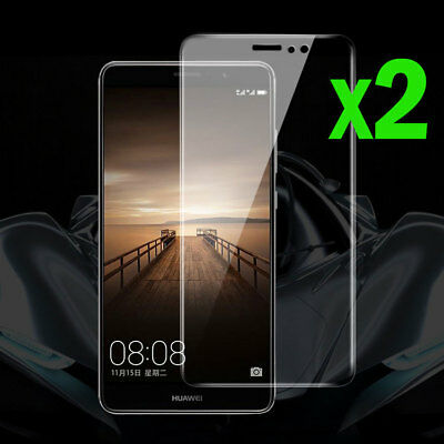 For Huawei Mate 10 & Pro 2Pcs 9H Premium Tempered Glass Screen Protector Film
