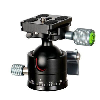 E2 mini Tripod Head Ballhead with Quick Release Plate For Camera