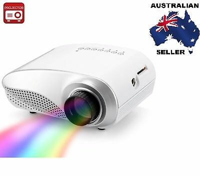 1080p Support Mini Multimedia LED Projector - 320x240 Resolution AUS SELLER