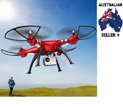 SYMA FPV Real-Time X8HG Drone - 6-Axis, Wi-Fi, FPV, Removable 8MP cam AUS SELLER