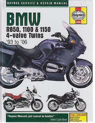 Bmw R850 R Gs  R1100 R Gs S Rs Ss Rt  R1150 Gs R Rs Rt '93-06 Repair Book *new*