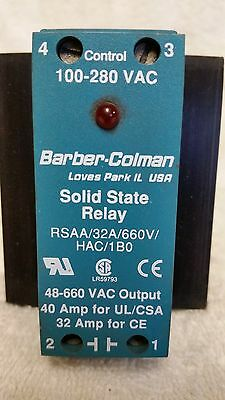 Barber-Colman Solid State Relay