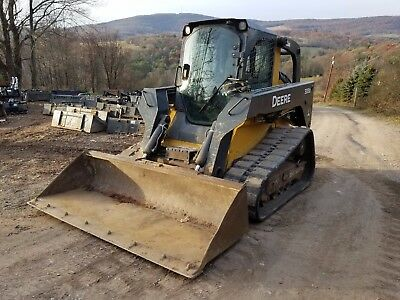 2012 Deere 333D Track Skid Steer Fully Loaded High Flow Ready To Work In Pa!