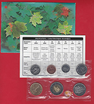 2003 - - PL Set- - Canada Proof Like Mint Set - With COA and Envelope