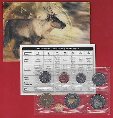 2001 P - - PL Set- - Canada Proof Like Mint Set - With COA and Envelope