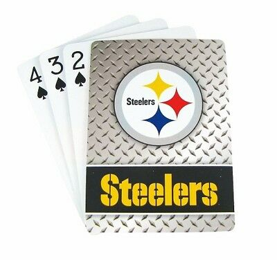 12 Deck Pack of NFL Pittsburgh Steelers Playing Cards