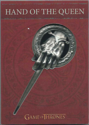 2017 Rittenhouse Game Of Thrones Valyrian Steel H8 Hand Of The Queen Pin