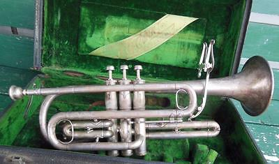 1925 Conn Trumpet Pan American 30A W/case Parts/repair Harwood Kansas City Mo