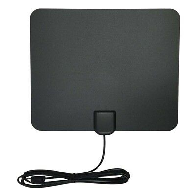F/IEC Thin Flat Indoor TV Antenna HD High Def TVScout TVFox HDTV VHF UHF DTV