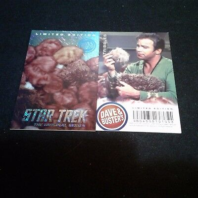 Dave and Buster's Star Trek Limited Edition Foil Arcade Card - Tribbles