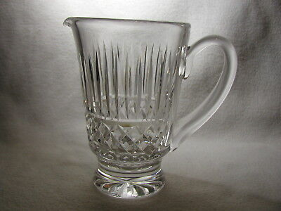 "Signed Waterford ""Baltray"" Cut Crystal Pitcher"