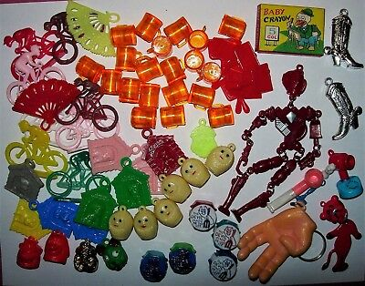 Assorted Gumball Prizes Charms Toys