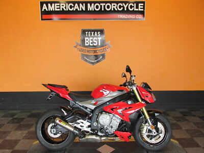 BMW S1000RR  2016 BMW S1000R Only 1,067 Miles - Racing Red Paint Scheme- Liquid-cooled 999 cc