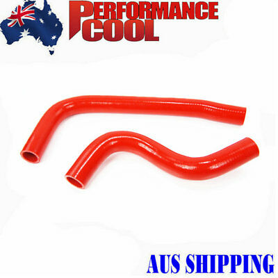 Silicone Radiator Hose Kit 3Ply 4Mm Best Fit For Mazda Mx5 Miata 1994-97 Red Au