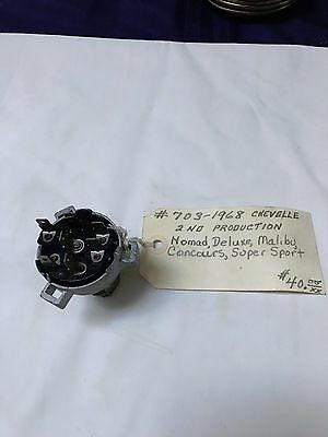 NOS Delco-Remy 68  Chevelle Ignition Switch #703