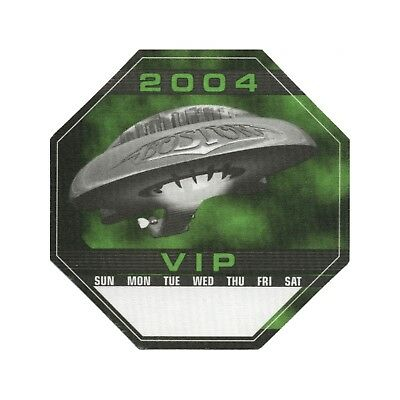 Boston authentic VIP 2004 tour Backstage Pass