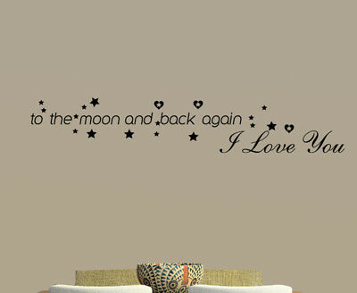 DIY Home I Love You Quote Decor Removable Decal Room Wall Sticker Vinyl Art