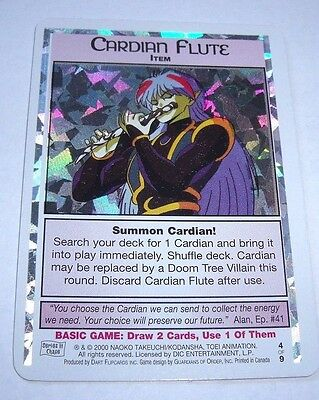 Sailor Moon Series 3 Dart Trading Card Cardian Flute 4 /9 Chase Foil Card