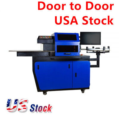 USA Stock !AC220V, 50Hz, 2.4KW Automatic CNC Metal Channel Letter Bender Machine