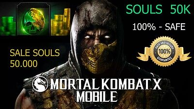 MORTAL KOMBAT X 50,000 SOULS  only Android
