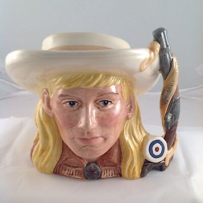 Royal Doulton Wild West Character Jug Annie Oakley In Excellent Condition