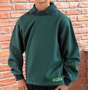 Cub Sweatshirt Official Supplier All Sizes Scouts Uniform