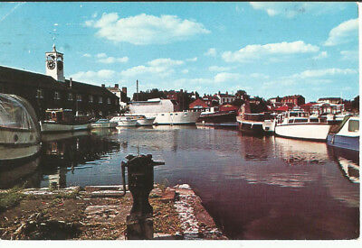 Used Postcard Of The Basin, Stourport On Severn, Worcestershire