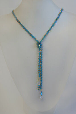Bead Shack Tutorial Instruction & Kit - Crystal Lasso Necklace - Bead/Sew/DIY