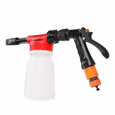 New Car Cleaning Foam Gun Washing Foamaster Gun Water Soap Shampoo Sprayer 900ml