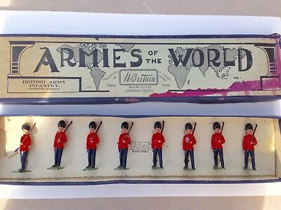 Britain's Armies of the World: Grenadiers Marching. Boxed Set 701A. Prob. 1930s