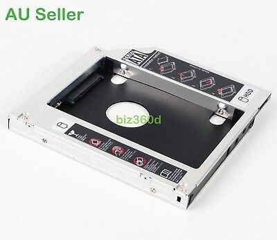 2nd Hard Drive HD HDD SSD Caddy Adapter for HP Pavillion DV6 DV7 DV8 HDX18 HDX16