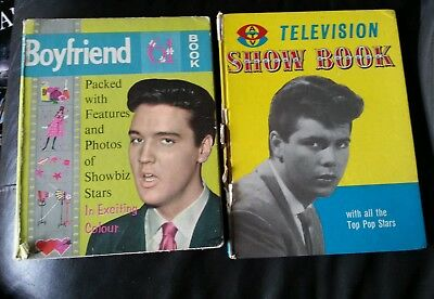 Boyfriend 61 Book UK Annual Elvis Cover ATV Television show book Cliff Richards