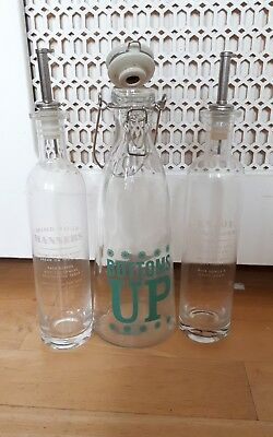 JMe Jamie Oliver kitchen glass items