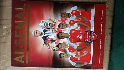 Arsenal Stadium Souvenir Tour book signed by Charlie George