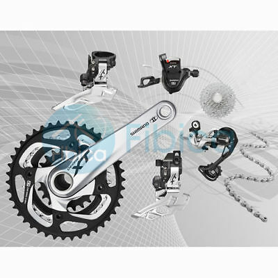 New Shimano Deore XT M780 3x10-speed Mountain MTB Group set Groupset 170/175mm