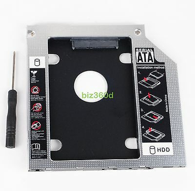 2nd Hard Drive HDD SSD Caddy for MSI GE40 GE62 GP62 GT72 GE72 GL62 GE62vr GUB0N