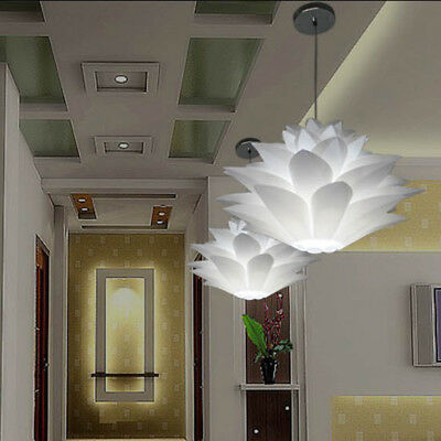Lotus Pendant Chandelier Pendant Ceiling Lamps Hanging Light Lampshade DIY Decor