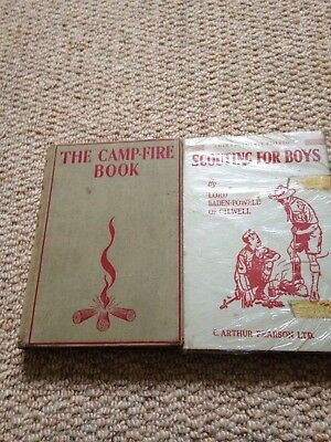 Book-'Scouting For Boys' and camp fire songs