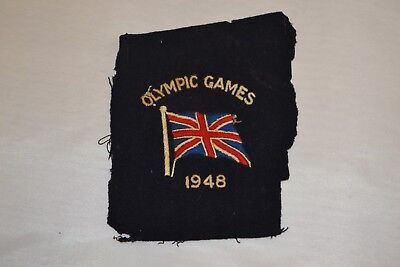 Olympic Games 1948 Armpatch Great Britain ##RUGc5jw