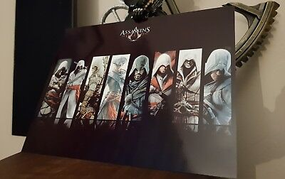 Assassins creed Wall Plate metal display ps4 pc xbox one new poster sign