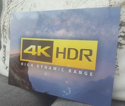 4K tv projector home theatre HDR home Cinema tin wall Sign for A/V hobby fans