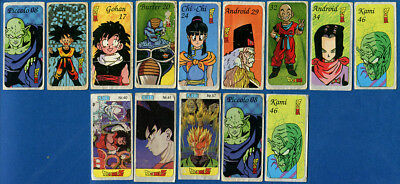 ANIME Dragon Ball 14 pcs. Chewing / Bubble Gum Stickers.
