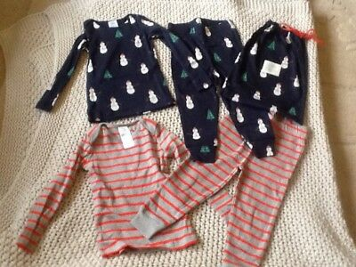 mini boden cosy playsuits pjyamas bnwt in a cute bag 18-24 months christmas gift