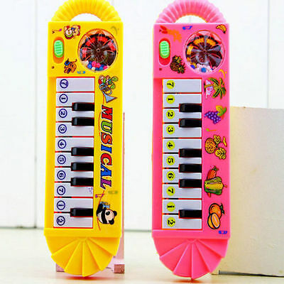 Infant Toddler Baby Developmental Toy Kids Musical Piano Early Educational Game