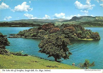 B100666 the lake isle of innisfree lough gill sligo ireland