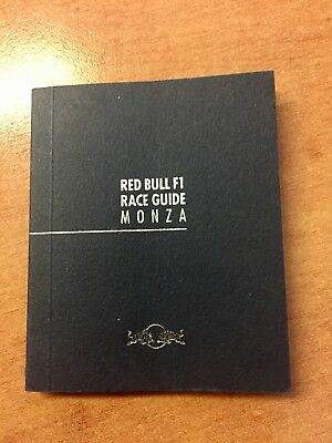 Red Bull Racing F1 Team Race & City Guide - Monza - 2009 Italian Grand Prix