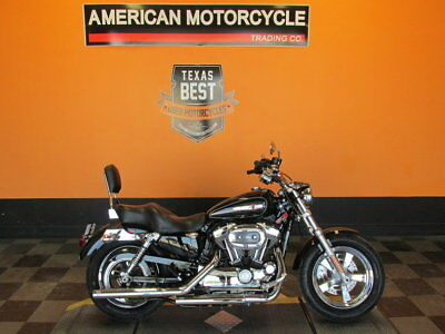 Harley-Davidson Sportster 1200  2014 Harley-Davidson Sportster 1200 Custom - XL1200C Set up for two up riding.
